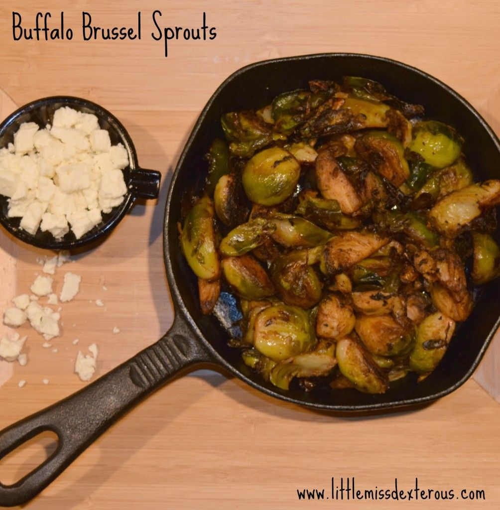 Buffalo Brussel Sprouts #buffalobrusselsprouts
