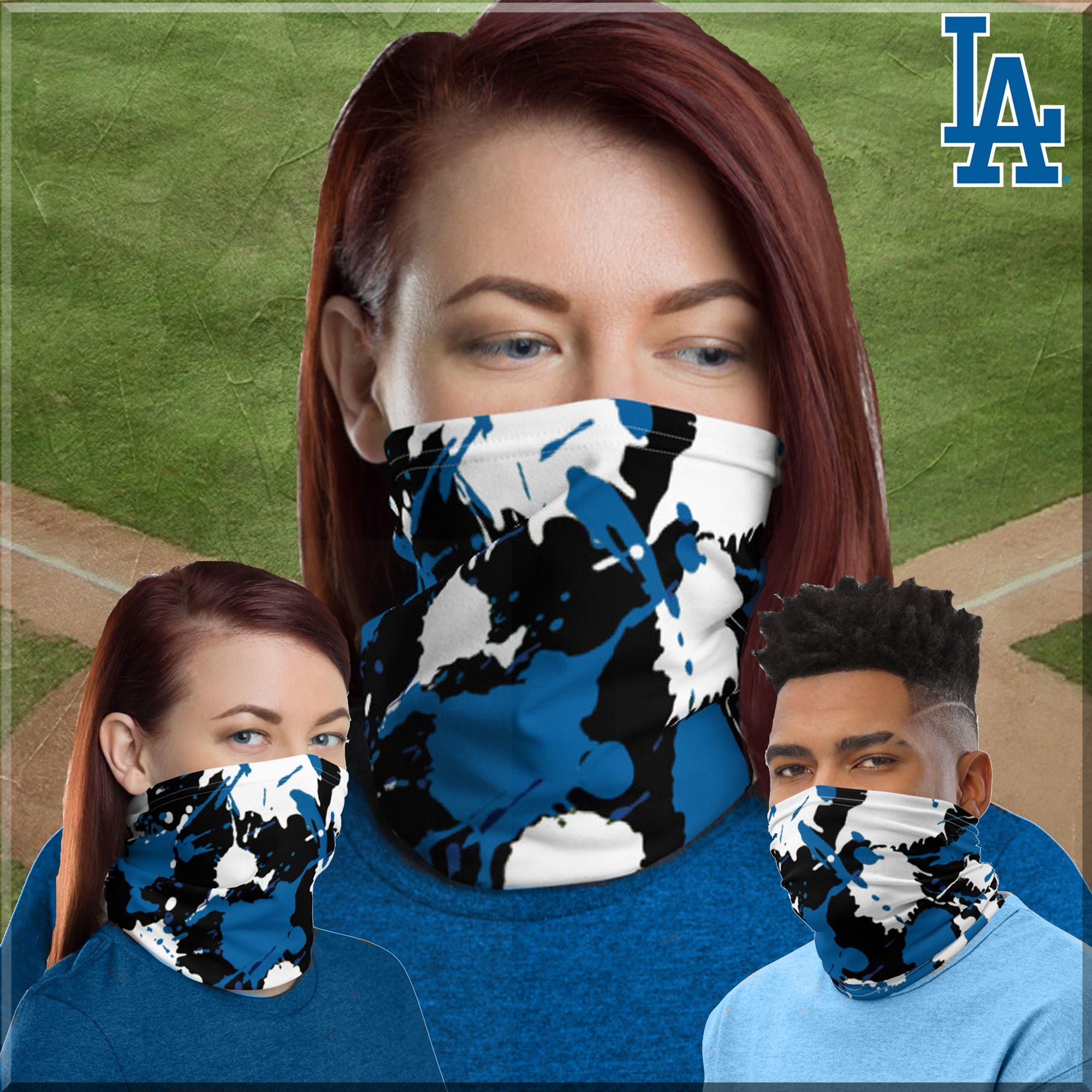 Nl West Mlb Baseball Diamondbacks Dodgers Giants Padres Rockies Inspired Neck Gaiter Face Cover Bandana Headband Face Mask Urban Street Wear In 2020 La Dodgers Baseball Baseball Inspired La Dodgers