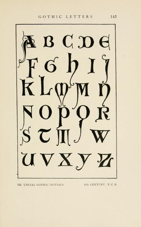 Letters Lettering A Treatise With 200 Examples Caligrafia