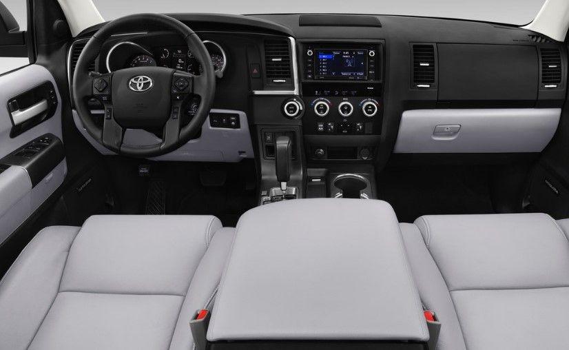 2020 Toyota Sequoia Interior Sequoia Toyota Toyota Highlander Hybrid