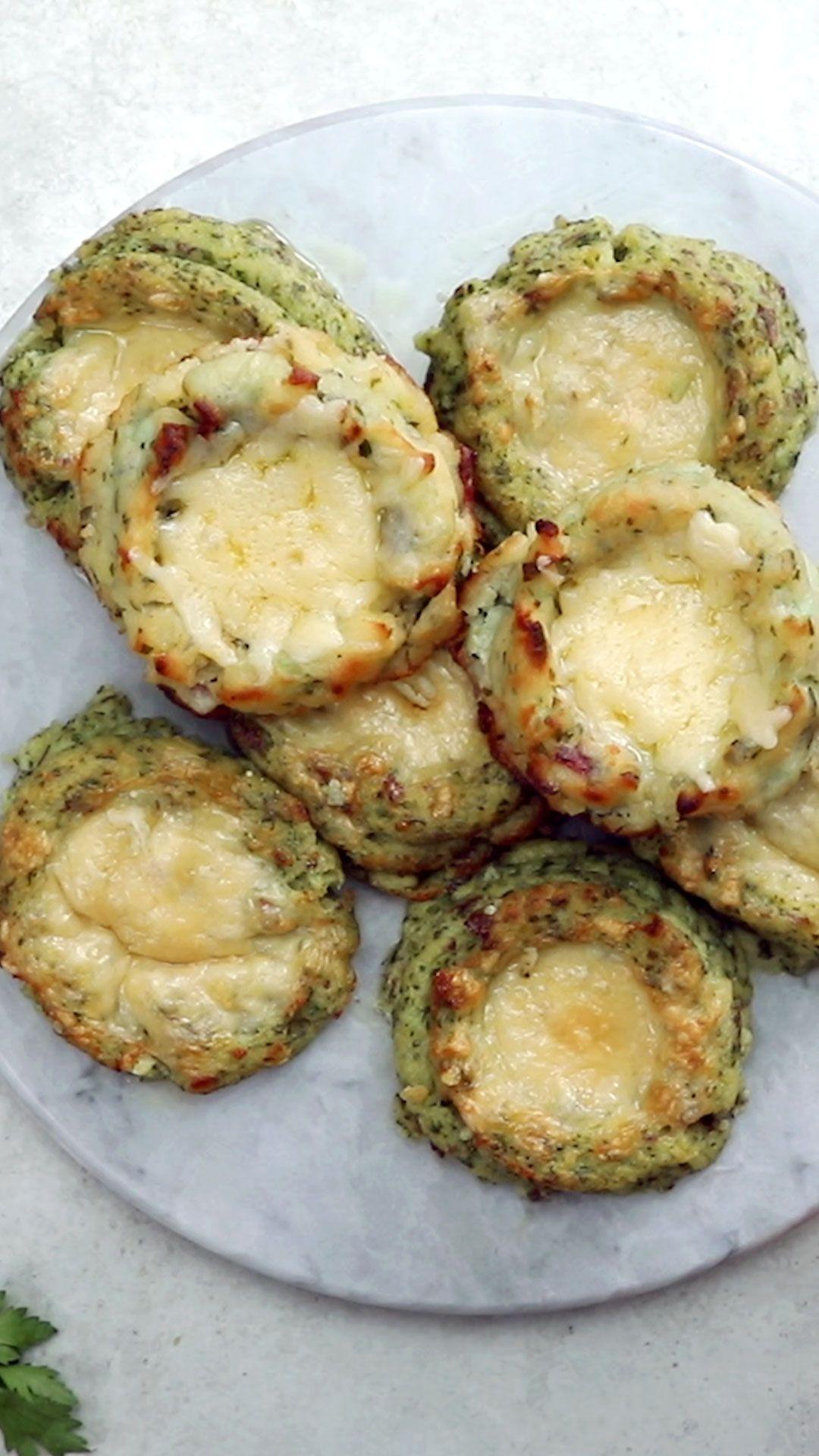 Cheesy Potato Pies #finecooking