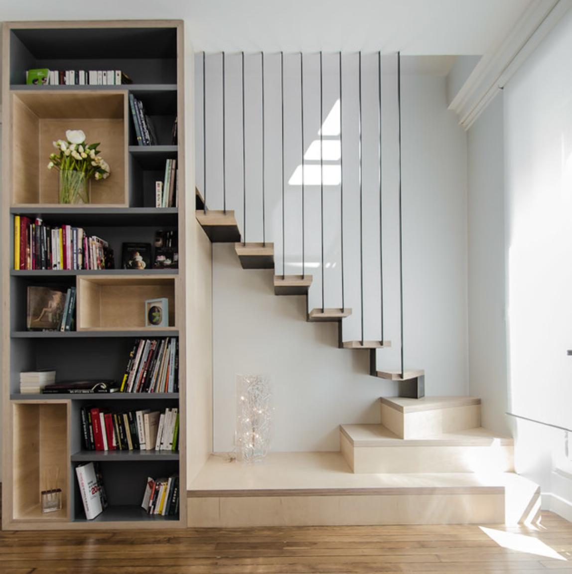 Déco Cage Escalier 50 Intérieurs Modernes Et Contemporains: Épinglé Par Victoria Fernandez Jiménez Sur DISEÑOS DE