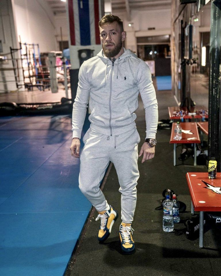 3deb2ad4373 ICYMI  Conor McGregor Seen Wearing Polo Ralph Lauren Sweatsuit And Dolce   Gabbana  Sneakers