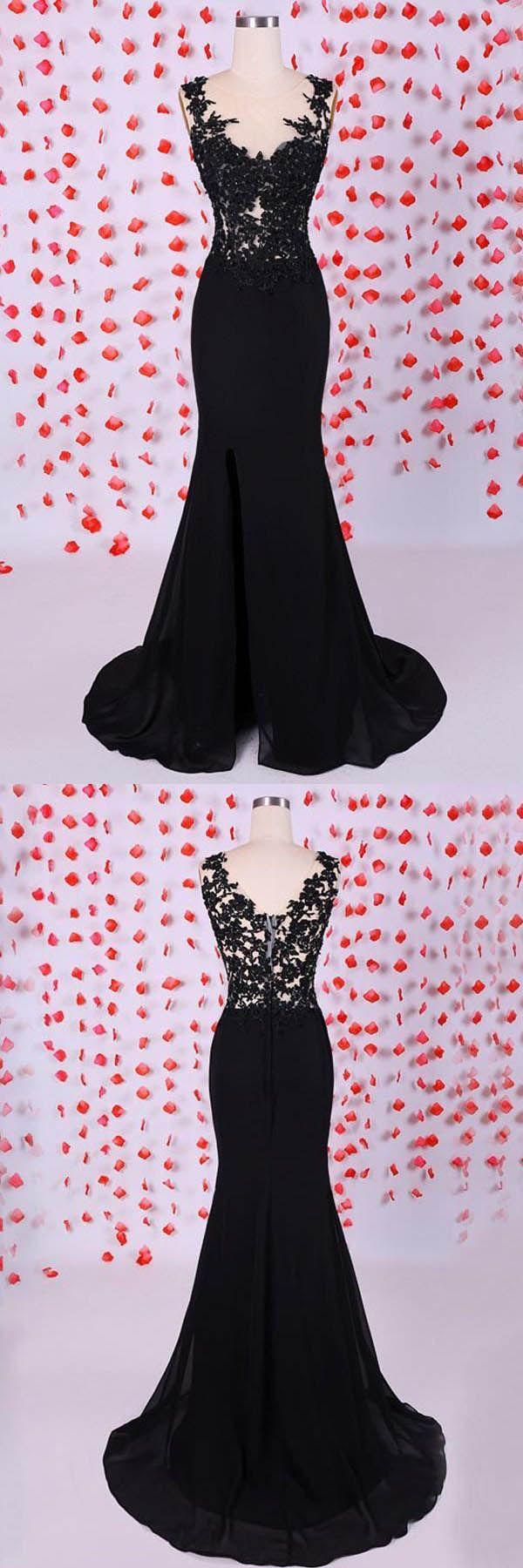Mermaid sweetheart chiffon straps long prom dresses evening dresses