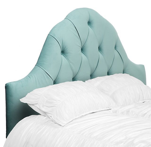 Eliza Headboard Aquamarine Headboards Bedroom