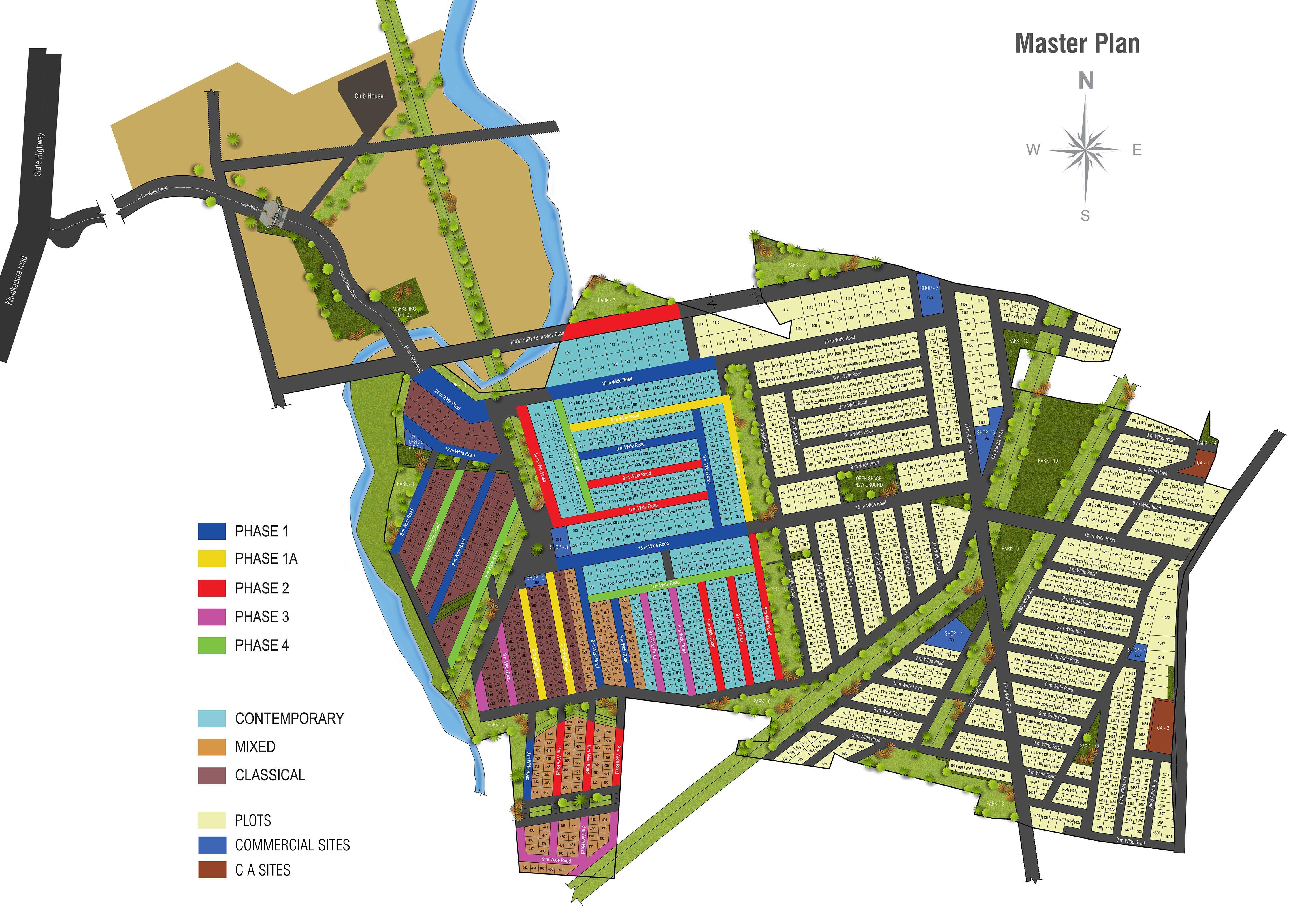 Concorde Napa Valley Villas Layout Plan www.bangalore5.com ...