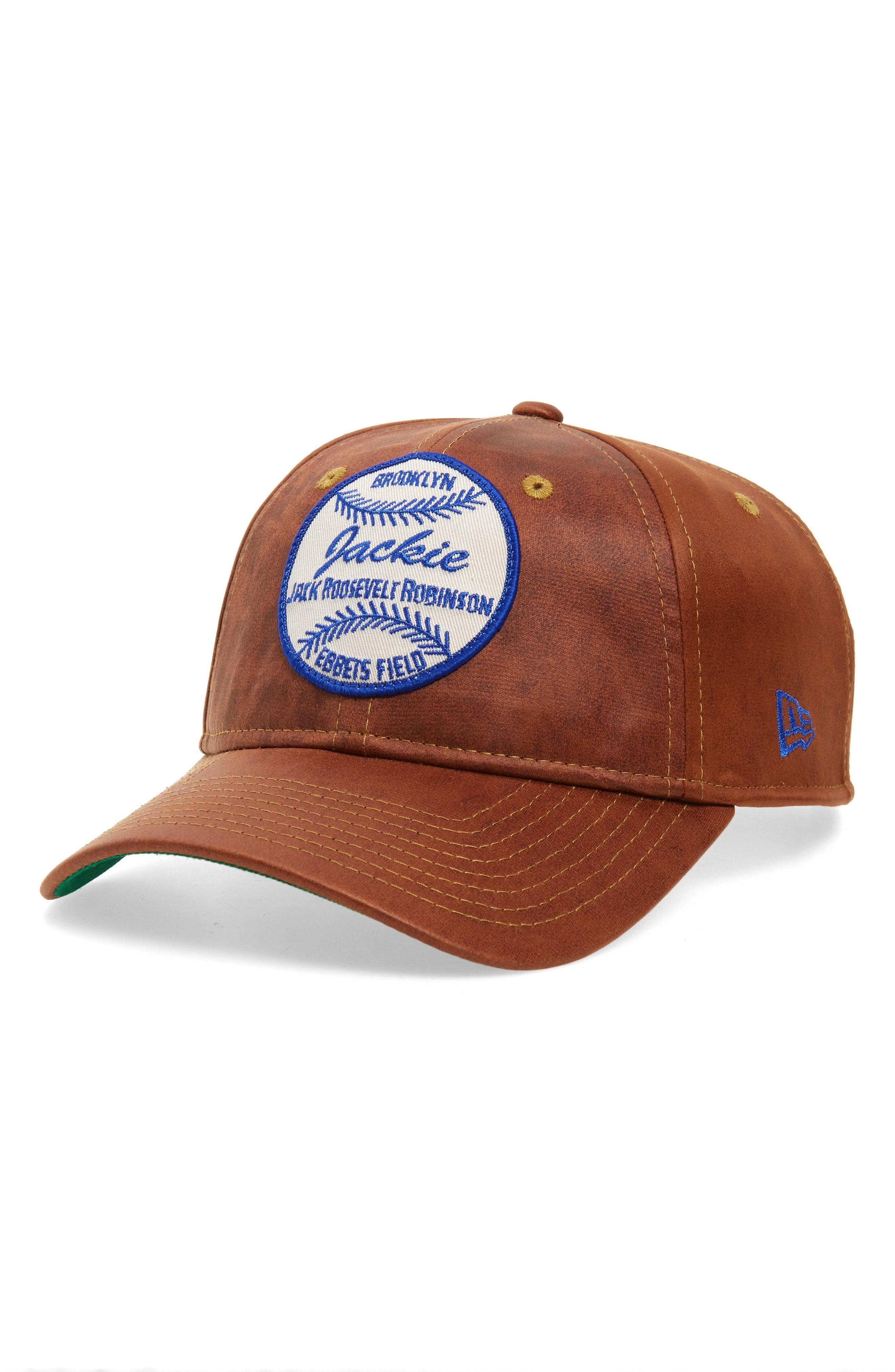 huge selection of picked up order online NEW ERA JACKIE ROBINSON 9TWENTY BASEBALL CAP - BROWN. #newera ...