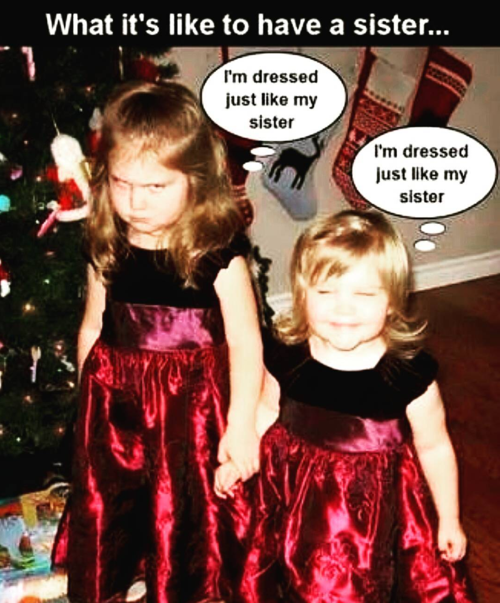 Older Sister Memes : older, sister, memes, Sister, Memes, Funny, Memes,, Sisters, Funny,