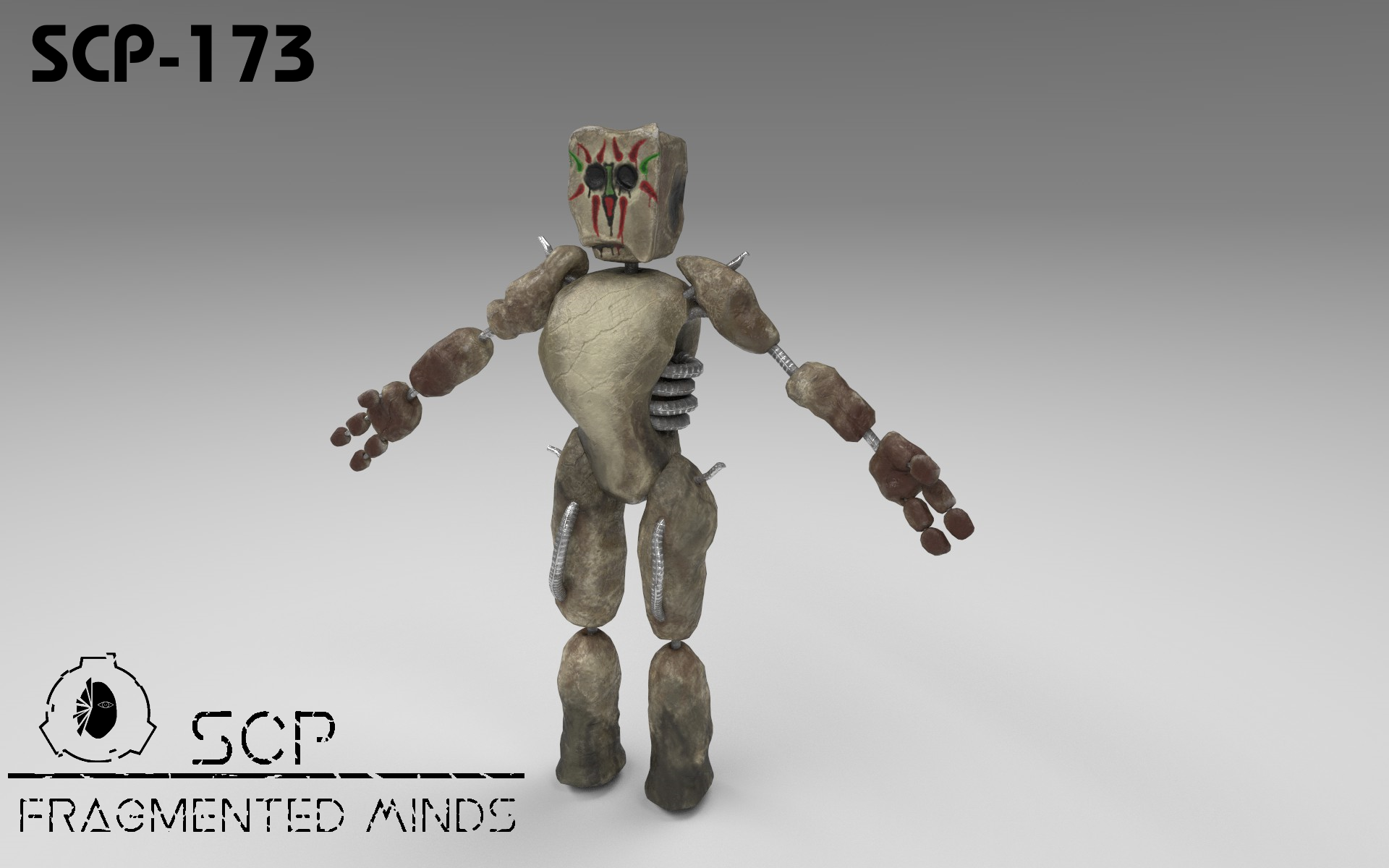 Scp 173 The Statue By Kiwihermit Scp Statue Art