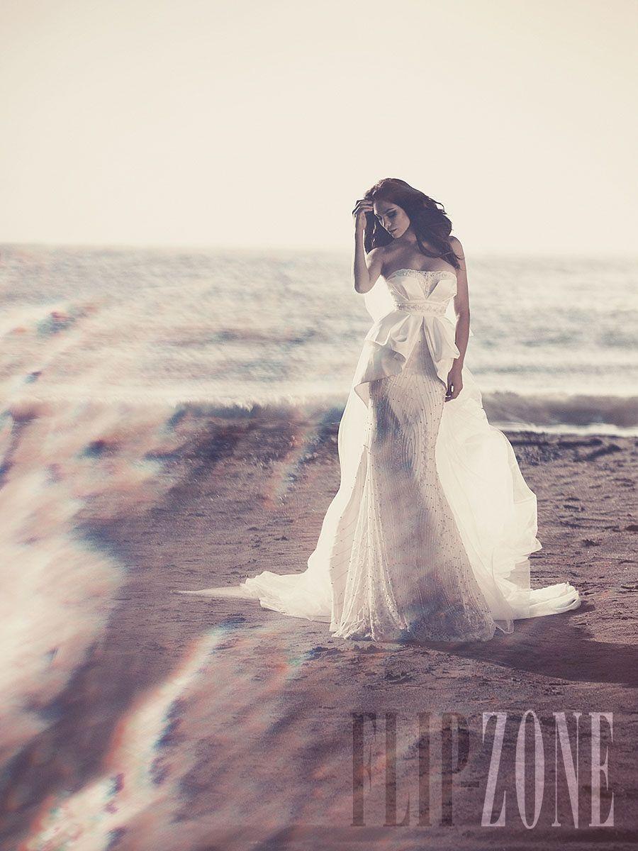 Julia Kontogruni - Bridal - 2013 collection - http://en.flip-zone.com/fashion/bridal/couture/julia-kontogruni