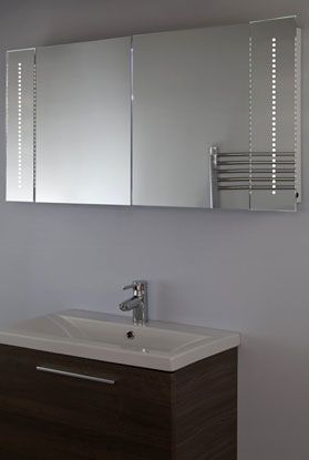 Design badkamer spiegelkasten met LED verlichting | Bathroom ...