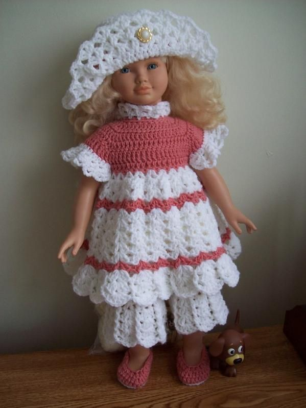 This Is A Free Crochet Pattern For A 26 Inch Doll But Can Be Easily