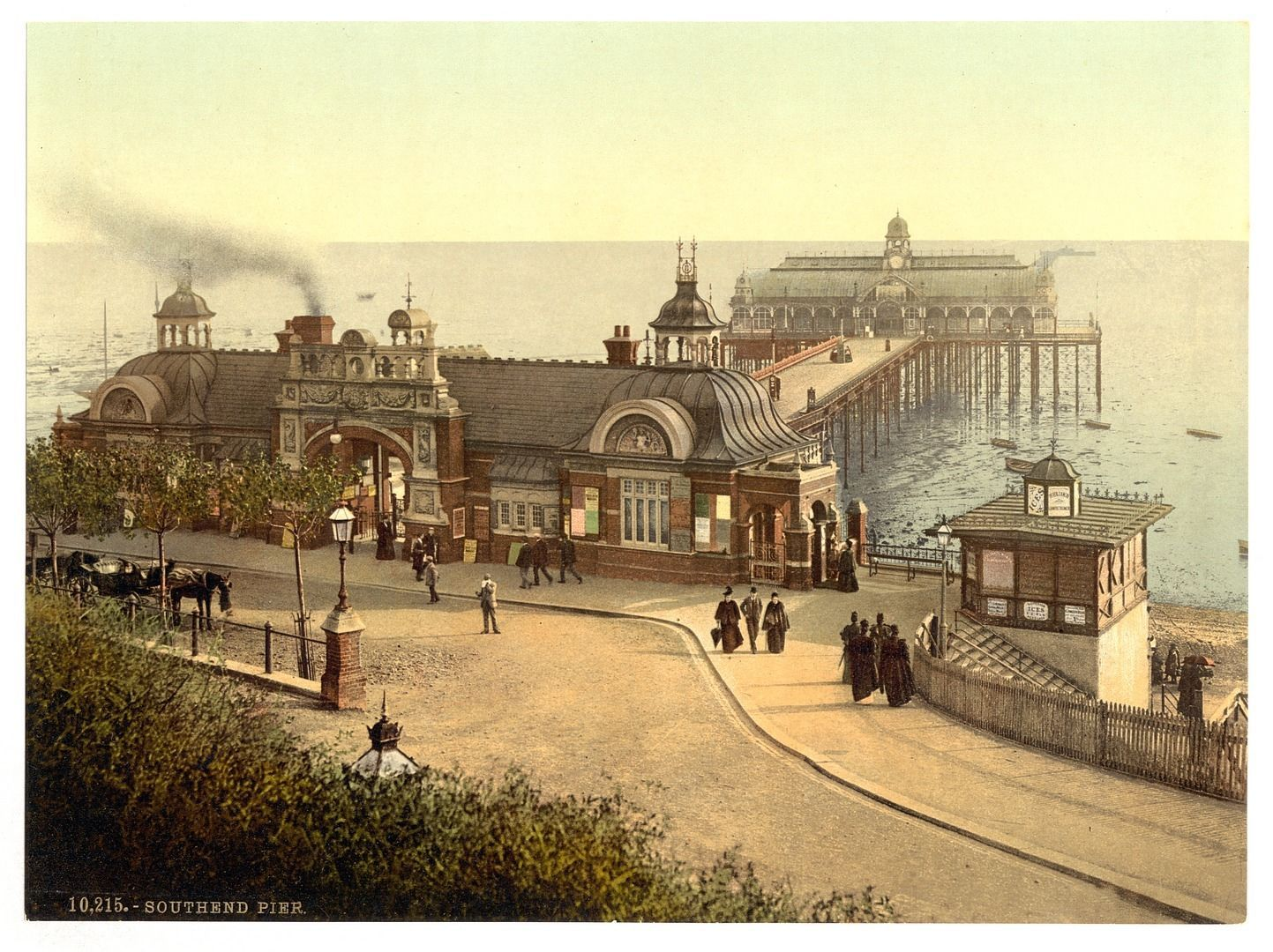 8 victorian views of southend on sea hadleigh castle pier east