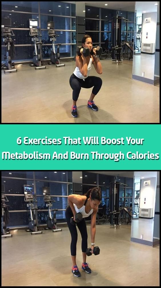 6 Exercises That Will Boost Your Metabolism And Burn ...