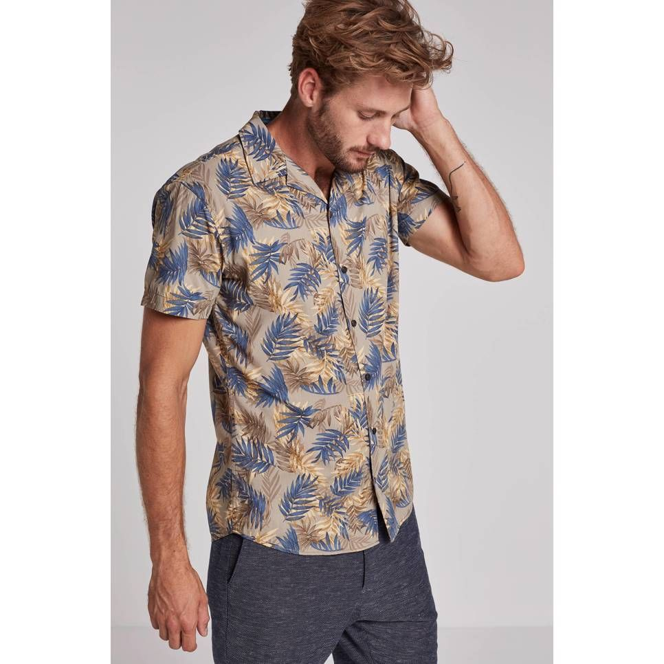 Zomer Overhemd.Jack Jones Originals Kahula Slim Fit Overhemd Prints Wehkamp