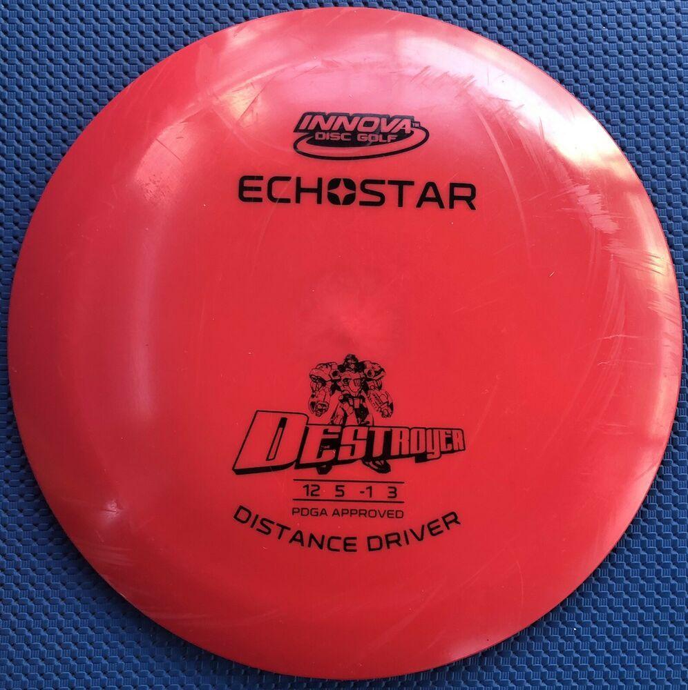Advertisement Ebay Rare Red Echo Star Destroyer 175 G Innova Disc Golf Oop 7 10 Innova Disc Golf Disc Golf Star Destroyer