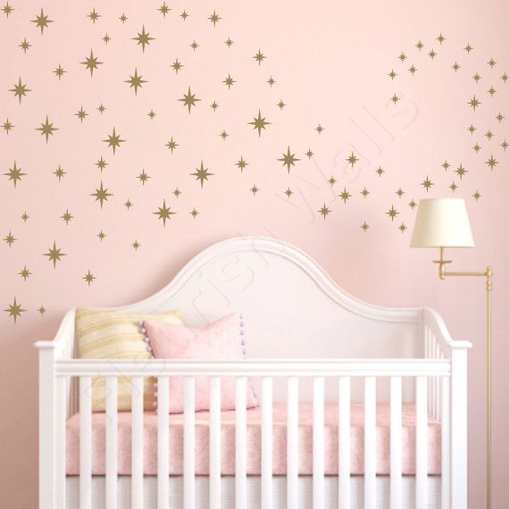 Star Wall Decals Confetti Star Decals Baby By Fleurishwalls