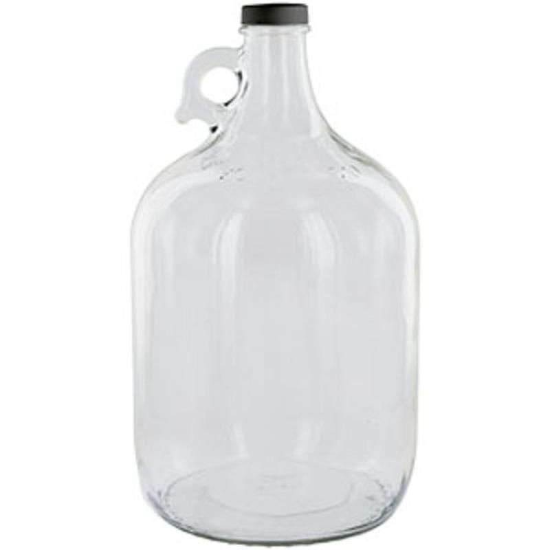 Clear 1 Gallon Glass Beer Growler Or Water Bottle With Cap Fresh Water Systems In 2020 Beer Growler Beer Glass Laundry Detergent Bottles
