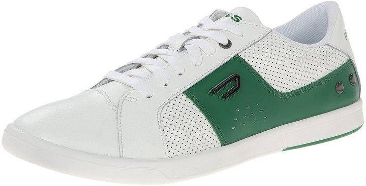 Diesel Gotcha Men Us 10 5 White Sneakers Gotcha Calzas