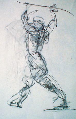 john singer sargent gesture drawings