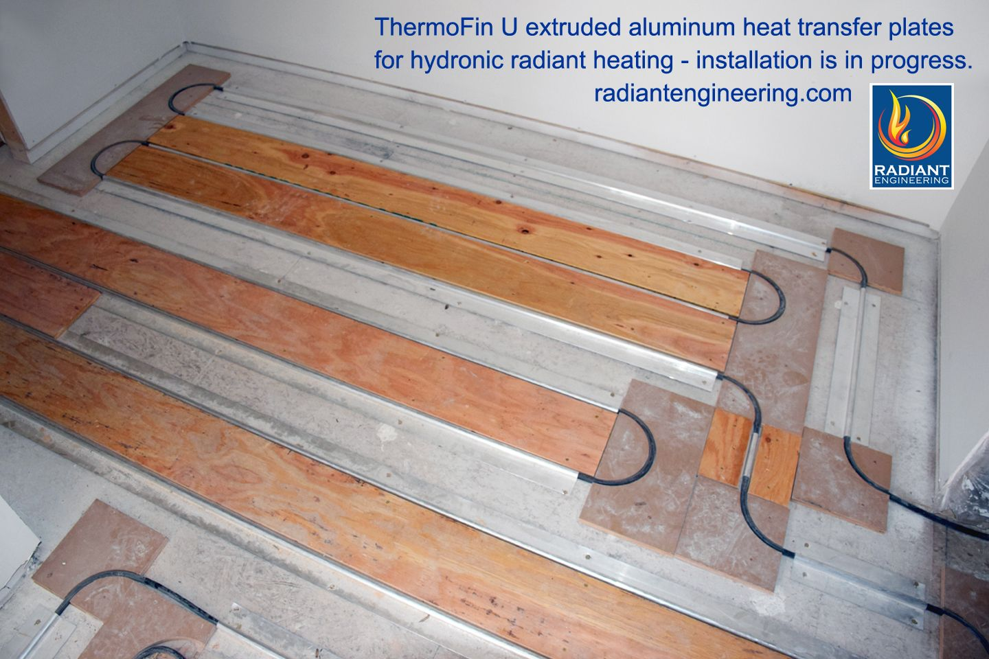 how to make radiant heat transfer plates