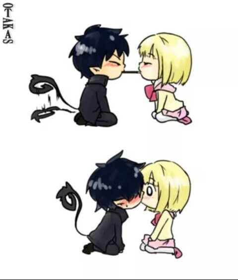 Aono exorcist shared by Madu on We Heart It