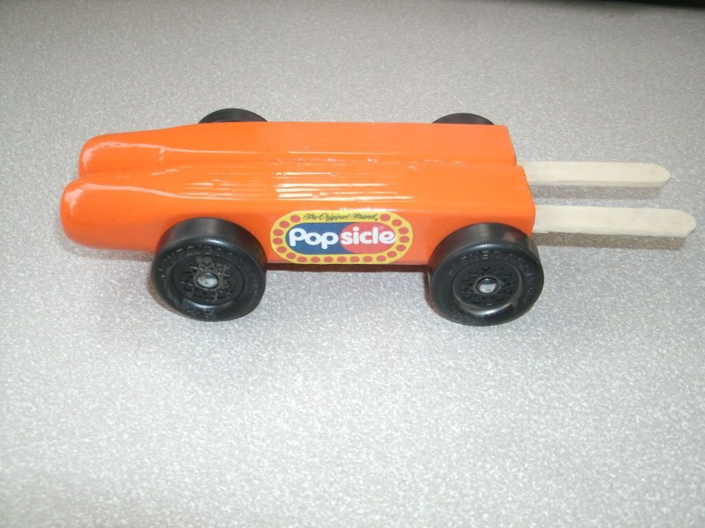 Popsicle Pine Wood Derby Car | Derby Car Ideas | Pinewood