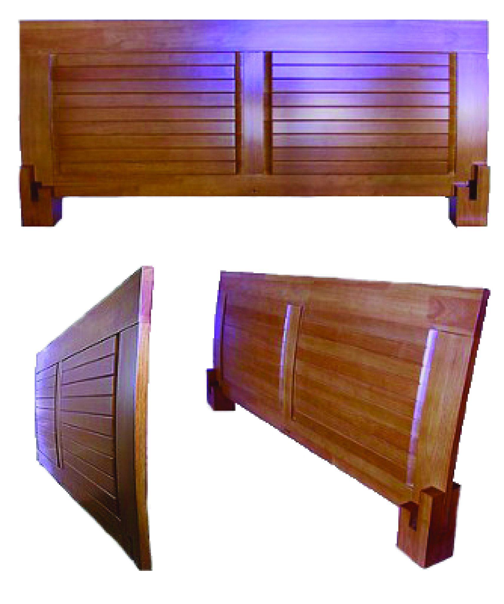 Tatami Frame Headboard Wood bed design, Solid wood bed