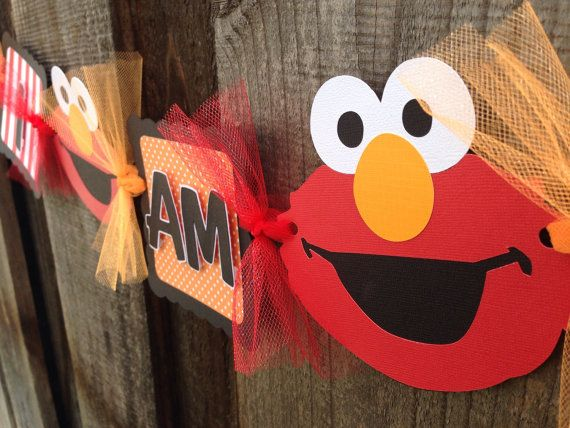 Hey, I found this really awesome Etsy listing at https://www.etsy.com/listing/163446611/elmo-high-chair-banner-i-am-2