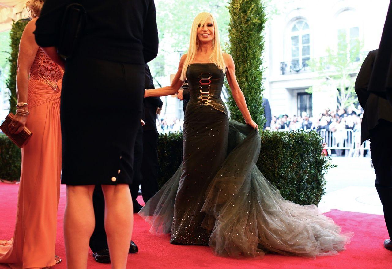 Vogue Daily — Donatella Versace