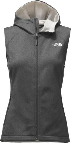 1a7f5fb6ebf0 The North Face Women s Canyonwall Hoodie Vest Tnf Dark Grey Heather ...