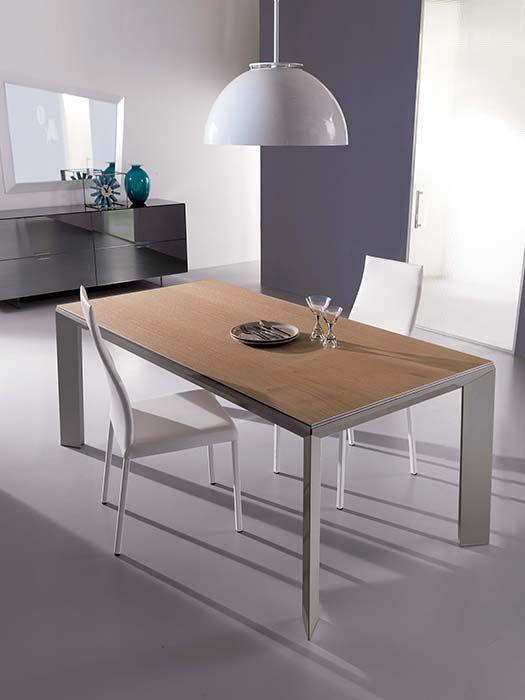 Tavolo allungabile design by Ozzio | Tavoli | Pinterest | Modern ...