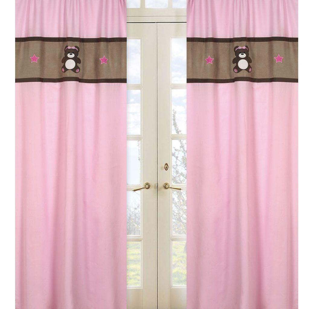 Teddy Bear Kitchen Curtains