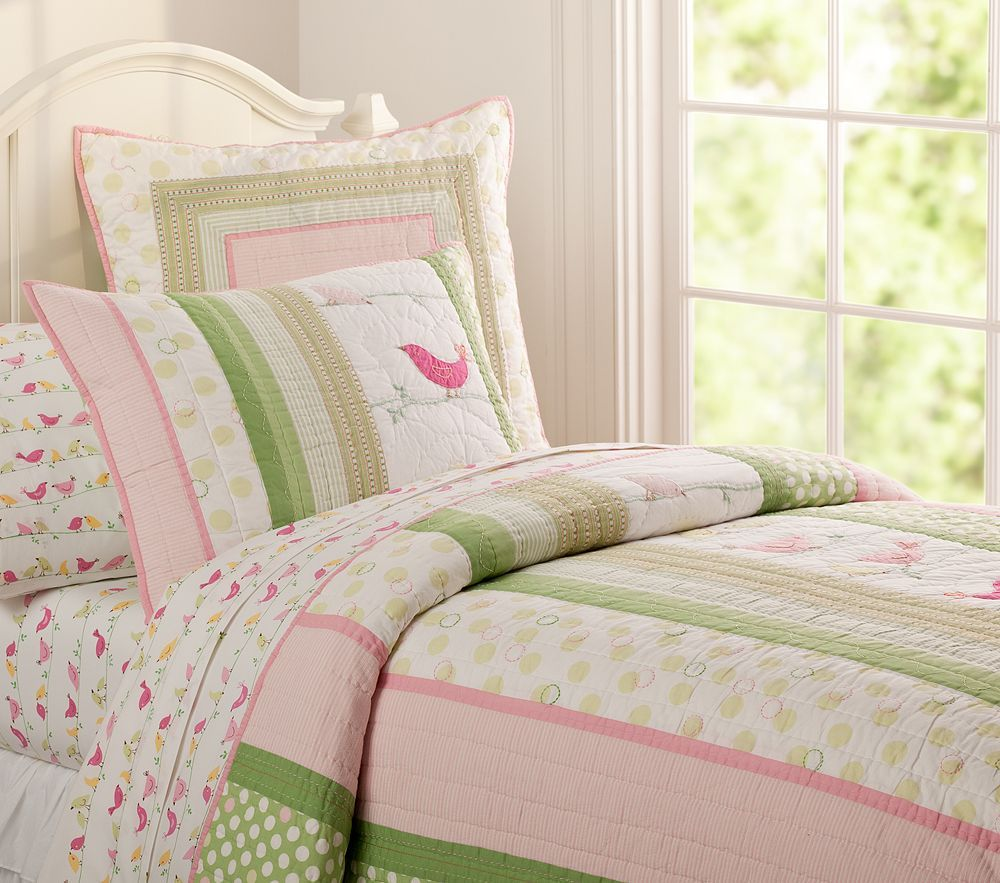 Pink And Green So Bekah Pottery Barn Look Quilt