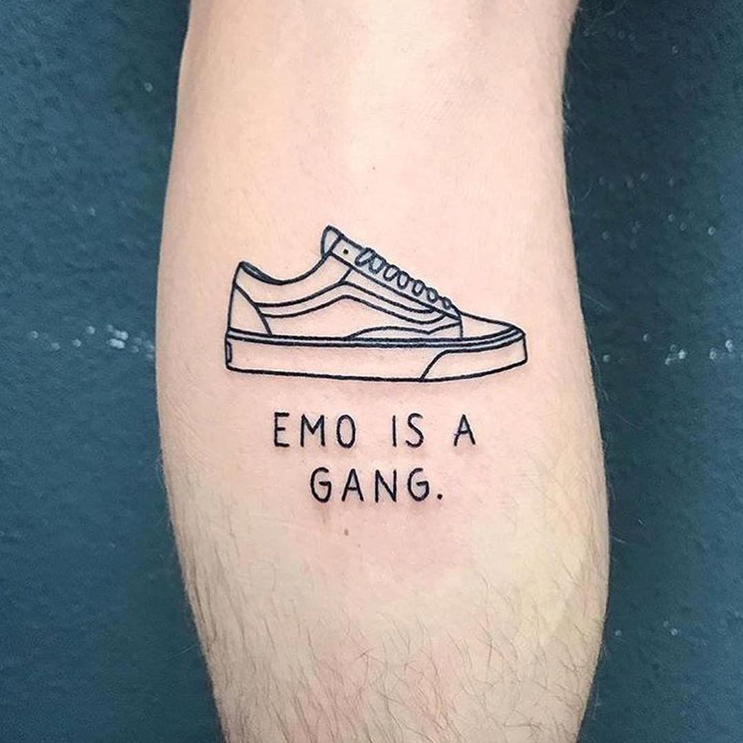 Punto de partida Folleto híbrido old school vans tattoo ...