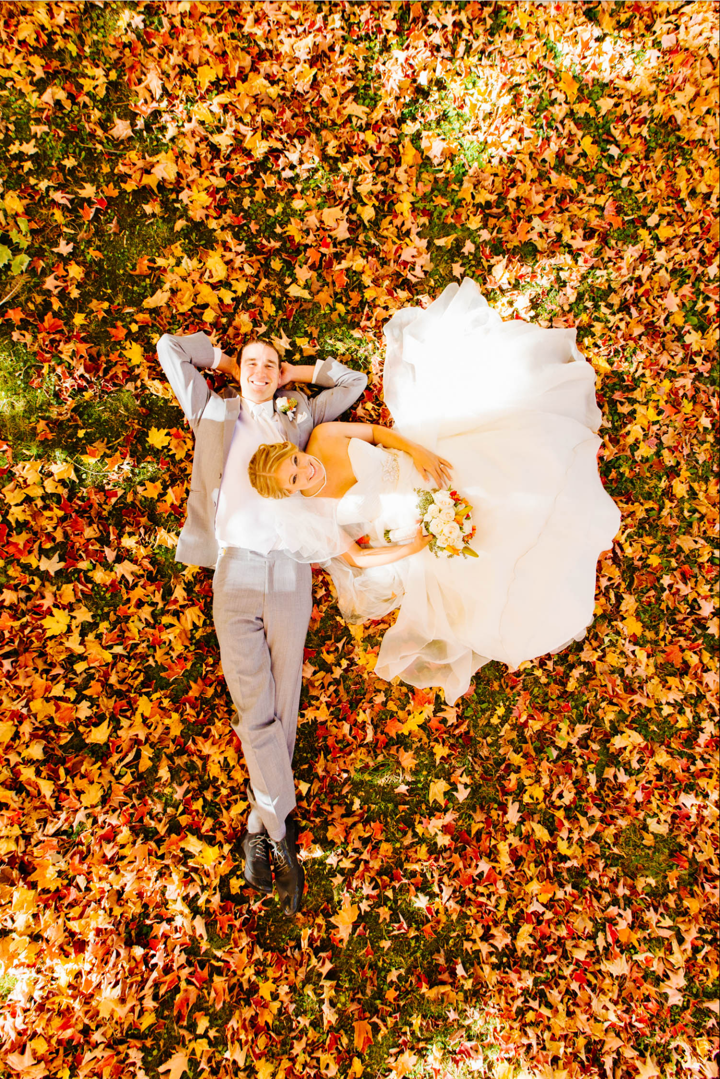 Found this on reddit. Beautiful shot for a fall wedding