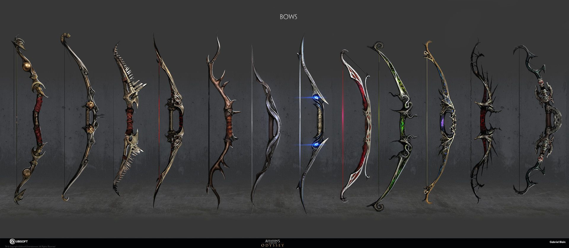 Artstation Assassin S Creed Odyssey Weapon Concept Gabriel