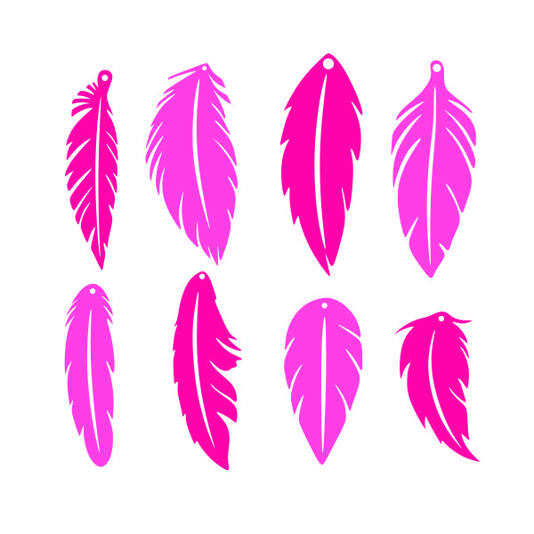 Download Leather Earring Svg File Free | Feather earrings, Diy ...