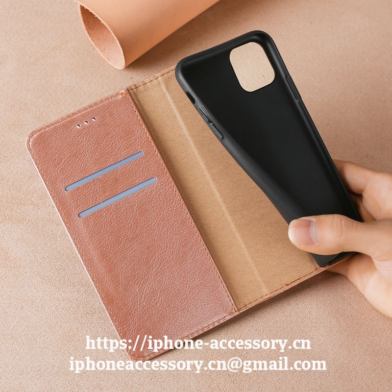 iPhone 12 Mini pro max leather Case