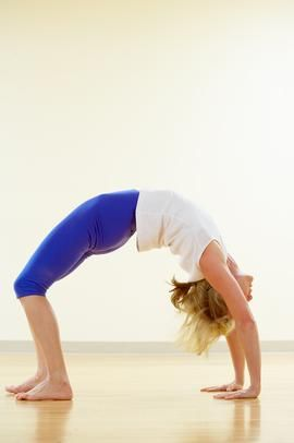 how to do a backbend for beginners  gymnastics for