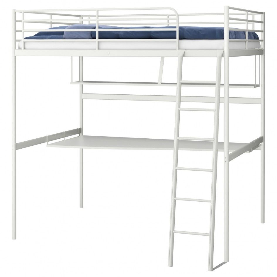Bunk bed with desk ikea - Bedding Bunk Beds With Desk Ikea Bunk Bed With Double Side Rails Loft Bed Ideas