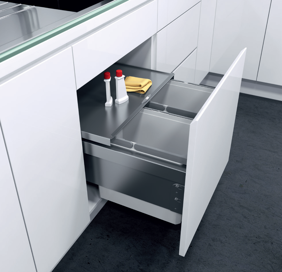 Kitchen Waste Bin Door Mounted Eco Liner Eco Liner Waste Bin Systems A Clever Solution For