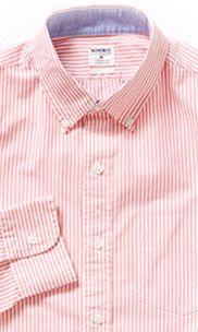 Washed Poplin - Pink Stripe