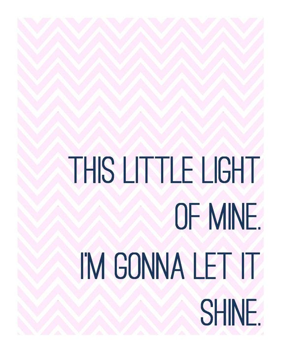 This Little Light of Mine Digital Printable by TwoFourFiveDesigns, $5.00
