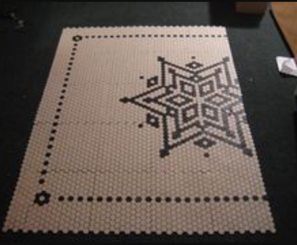 Penny floor pattern. | Crafts | Pinterest | Tiles, Tile ...