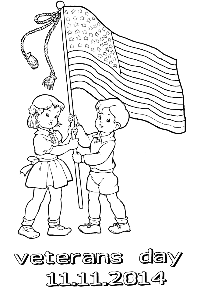 veterans day 2014 coloring pages