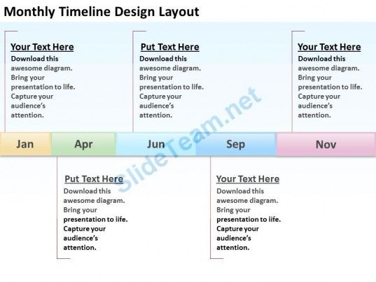Business Context Diagrams Timeline Design Laypout Powerpoint