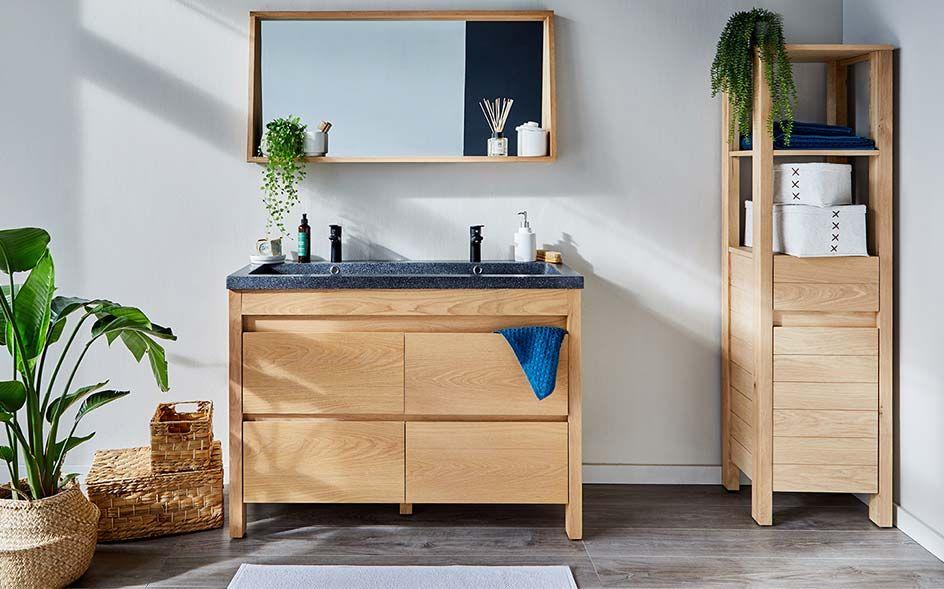 39+ Meuble salle de bain pour vasque a poser trends