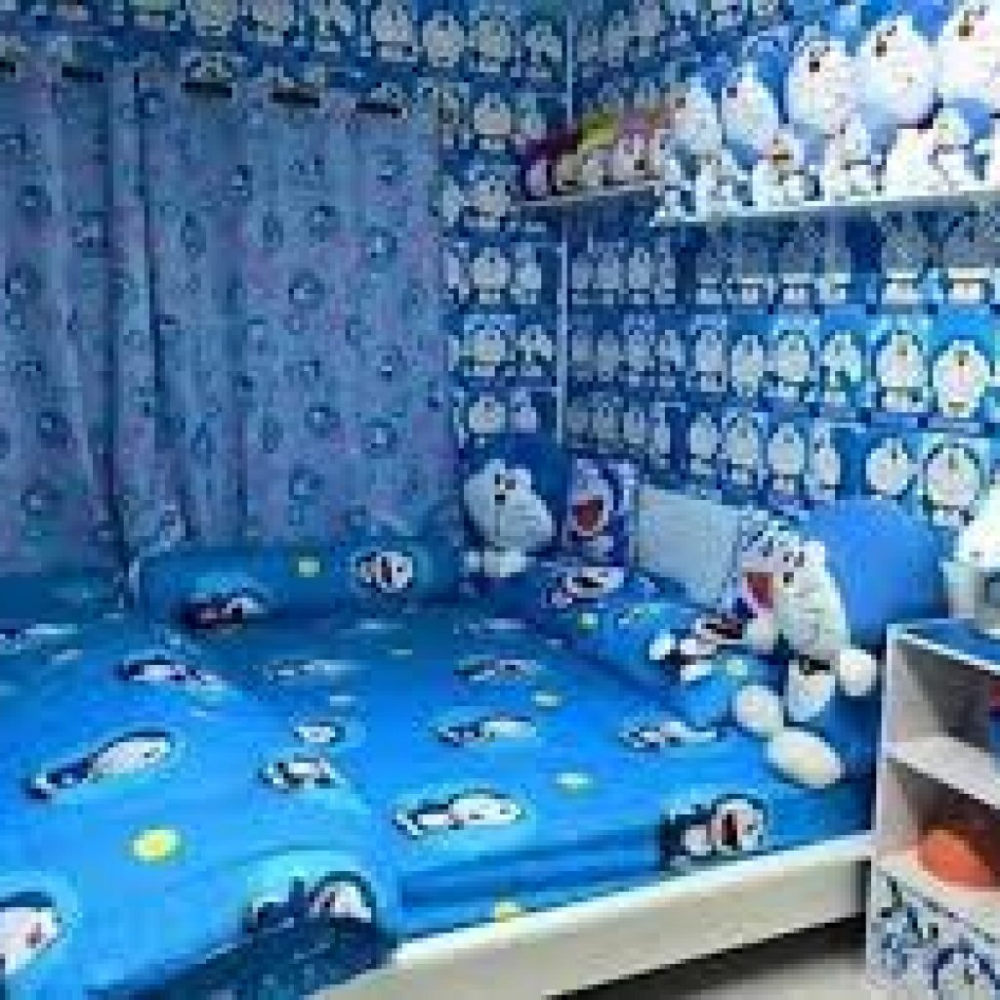 Cat Kamar Doraemon