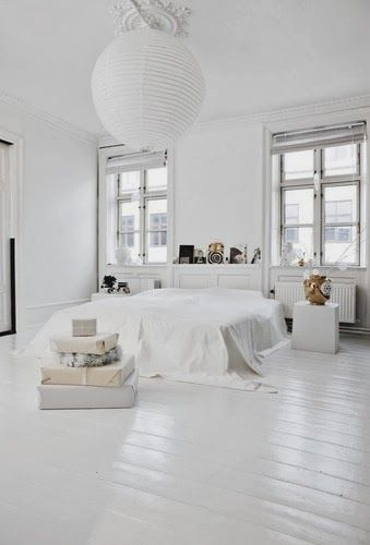 All White Interior Hesby Boho Modern Home Decor Lifestyle Www